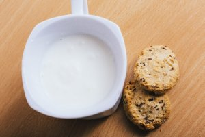 ココナッツホットミルク